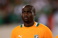 Ivory Coast defender Souleman Bamba (22). Mexico defeated the Ivory Coast 4-1 during an international friendly at MetLife Stadium in East Rutherford, NJ, on August 14, 2013.