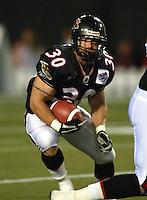 Josh Ranek Ottawa Renegades 2004. Photo Scott Grant