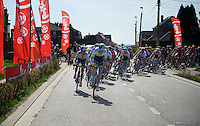 Team Orica-GreenEDGE leads out the peloton in the finale in support of race favorite Michael Matthews (AUS/Orica-GreenEDGE)<br /> <br /> 55th Brabantse Pijl 2015