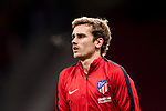 Antoine Griezmann of Atletico de Madrid warms up prior to the La Liga 2017-18 match between Atletico de Madrid and CD Leganes at Wanda Metropolitano on February 28 2018 in Madrid, Spain. Photo by Diego Souto / Power Sport Images