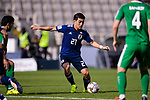 Doan Ritsu of Japan in action during the AFC Asian Cup UAE 2019 Group F match between Japan (JPN) and Turkmenistan (TKM) at Al Nahyan Stadium on 09 January 2019 in Abu Dhabi, United Arab Emirates. Photo by Marcio Rodrigo Machado / Power Sport Images