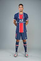 14th October 2020, Paris, France; Official League 1 player portrait for Paris Saint Germain;  KEHRER Thilo