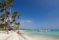Dominikanische Republik, Strand des Punta Cana Beach Resort und Club