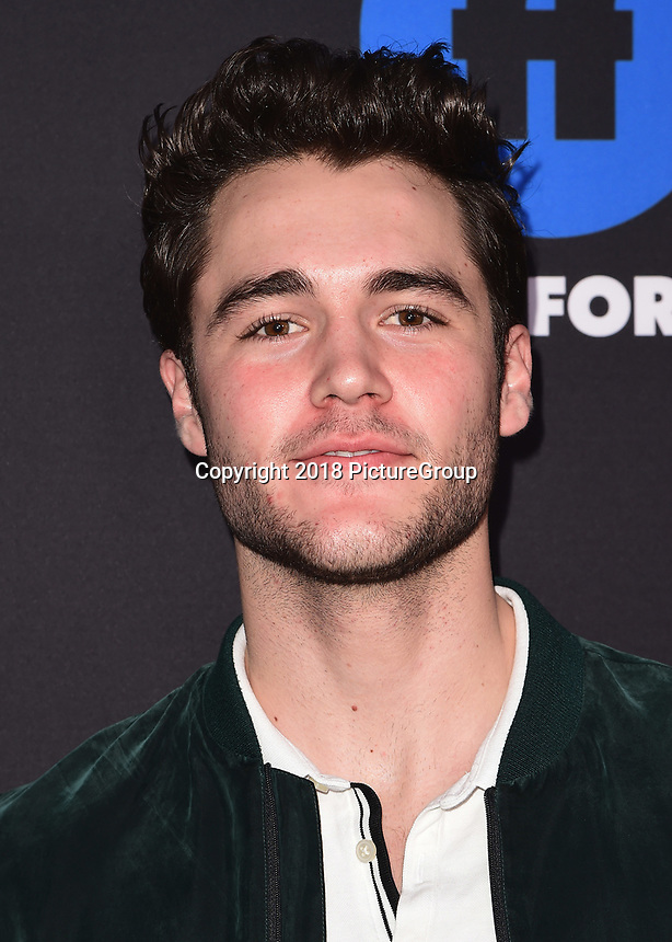 HOLLYWOOD, CA - JANUARY 18:  Charlie DePew at the Freeform Summit at NeueHouse on January 18, 2018 in Hollywood, California. (Photo by Scott Kirkland/PictureGroup)