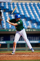 Jaxson Davis (29) of Lexington Christian Academy in Winchester, KY during the Perfect Game National Showcase at Hoover Metropolitan Stadium on June 20, 2020 in Hoover, Alabama. (Mike Janes/Four Seam Images)