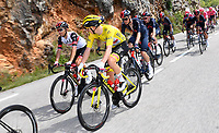 8th July 2021; Nimes, France; POGACAR Tadej (SLO) of UAE TEAM EMIRATESduring stage 12 of the 108th edition of the 2021 Tour de France cycling race, a stage of 159,4 kms between Saint-Paul-Trois-Chateaux and Nimes.