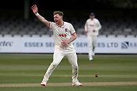 Sam Cook of Essex appeals for a wicket during Essex CCC vs Durham CCC, LV Insurance County Championship Group 1 Cricket at The Cloudfm County Ground on 15th April 2021