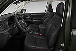 Front seat view of 2020 Toyota 4Runner TRD-Pro 5 Door SUV Front Seat  car photos