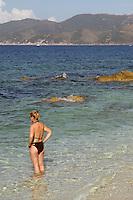 - Portoferraio (Island of Elba), beach of the Padulella....- Portoferraio (Isola d'Elba), spiaggia della Padulella