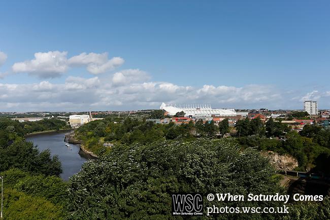 View of The Stadium of Light. Sunderland 2 Portsmouth 1, 17/08/2019. Stadium of Light, League One. Photo by Paul Thompson.
