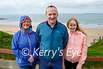 The Stack family enjoying a stroll in Ballybunion on Easter Sunday, l to r: Noel, Mary and Isabelle Stack