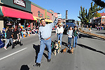 Gov. Brian Sandoval walks in the Nevada Day parade in Carson City, Nev., on Saturday, Oct. 31, 2015. <br /> Photo by Cathleen Allison