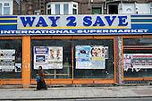 Closed shop, West Hendon, London.