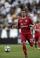 Calcio, Serie A: Torino, Allianz Stadium, 19 agosto 2017. <br /> Cagliari's Simone Padoin in action during the Italian Serie A football match between Juventus and Cagliari at Torino's Allianz Stadium, August 19, 2017.<br /> UPDATE IMAGES PRESS/Isabella Bonotto