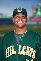 Lynchburg Hillcats pitcher Justus Sheffield (41) poses for a photo before a game against the Wilmington Blue Rocks on June 3, 2016 at Judy Johnson Field at Daniel S. Frawley Stadium in Wilmington, Delaware.  Lynchburg defeated Wilmington 16-11 in ten innings.  (Mike Janes/Four Seam Images)