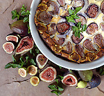 Fig Clafouti. Portfolio only