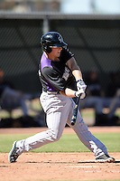Colorado Rockies catcher Tom Murphy (40) during an instructional league game against the Los Angels Angels of Anaheim on September 30, 2013 at Tempe Diablo Stadium Complex in Tempe, Arizona.  (Mike Janes/Four Seam Images)