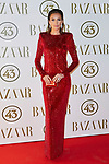 Nieves Alvarez attends to II Harper's Bazaar Actitud 43 awards at Gunilla Club in Madrid, Spain. October 17, 2018. (ALTERPHOTOS/A. Perez Meca)