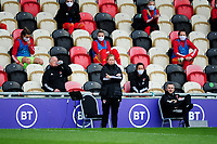 Jayne Ludlow coach of Wales Women's during the UEFA Women's EURO 2022 Qualifier match between Wales Women and Faroe Islands Women at Rodney Parade in Newport, Wales, UK. Thursday 22 October 2020