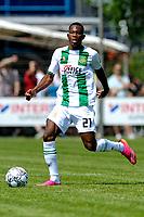 LEEK - Voetbal, Pelikaan S - FC Groningen , voorbereiding seizoen 2021-2022, oefenduel, 03-07-2021, FC Groningen speler Neraysho Kasanwirjo