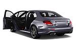 Car images close up view of a 2018 Mercedes Benz E Class Base 4 Door Sedan doors