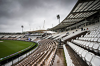 The weather proved the victor on the opening day of the WTC Final during India vs New Zealand, ICC World Test Championship Final Cricket at The Hampshire Bowl on 18th June 2021