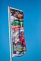 14-09-12, Netherlands, Amsterdam, Tennis, Daviscup Netherlands-Suiss, Flag
