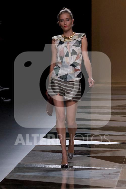02.09.2012. Models walk the runway in the Ailanto fashion show during the Mercedes-Benz Fashion Week Madrid Spring/Summer 2013 at Ifema. (Alterphotos/Marta Gonzalez)