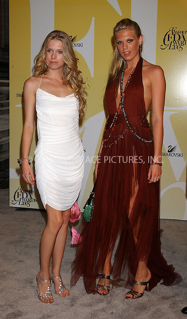 WWW.ACEPIXS.COM . . . . . ....NEW YORK, JUNE 6, 2005....Theodora and Alexandra Richards arriving to the 2005 CFDA Fashion Awards held at the New York Public Library.....Please byline: KRISTIN CALLAHAN - ACE PICTURES.. . . . . . ..Ace Pictures, Inc:  ..Craig Ashby (212) 243-8787..e-mail: picturedesk@acepixs.com..web: http://www.acepixs.com