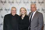 John Kander, Susan Stroman and David Thompson attends the Vineyard Theatre Gala honoring Colman Domingo at the Edison Ballroom on May 06, 2019 in New York City.