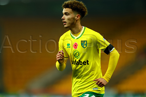 7th November 2020; Carrow Road, Norwich, Norfolk, England, English Football League Championship Football, Norwich versus Swansea City; Josh Martin of Norwich City