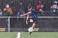 Brugge's Febe Vanhaecke pictured during a female soccer game between the women teams of Club Brugge YLA Dames and Union Saint-Ghislain Tertre-Hautrage Ladies on the 1/16 th qualifying round for the Belgian Womens Cup 2020  2021 , on saturday 26 th of September 2020  in Brugge , Belgium . PHOTO SPORTPIX.BE | SPP | DAVID CATRY