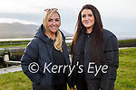 Enjoying a stroll in Lohercanon on Friday, l to r: Maria Daly and Kayleigh O'Mahoney