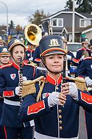 Veterans Day Parade 2017, Auburn, WA, USA.