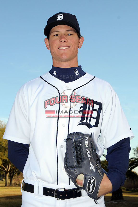 Feb 21, 2009; Lakeland, FL, USA; The Detroit Tigers pitcher Ryan Perry (74) during photoday at Tigertown. Mandatory Credit: Tomasso De Rosa/ Four Seam Images