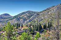 The monastery of Nea Moni in Chios island, Greece