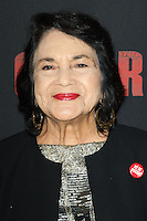"""HOLLYWOOD, LOS ANGELES, CA, USA - MARCH 20: Dolores Huerta at the Los Angeles Premiere Of Pantelion Films And Participant Media's """"Cesar Chavez"""" held at TCL Chinese Theatre on March 20, 2014 in Hollywood, Los Angeles, California, United States. (Photo by Celebrity Monitor)"""