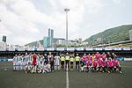 KCC Veterans vs Yau Yee League Masters during the Masters tournament of the HKFC Citi Soccer Sevens on 22 May 2016 in the Hong Kong Footbal Club, Hong Kong, China. Photo by Li Man Yuen / Power Sport Images