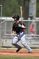 Miami Marlins Avery Romero (84) during a minor league spring training game against the St. Louis Cardinals on March 31, 2015 at the Roger Dean Complex in Jupiter, Florida.  (Mike Janes/Four Seam Images)