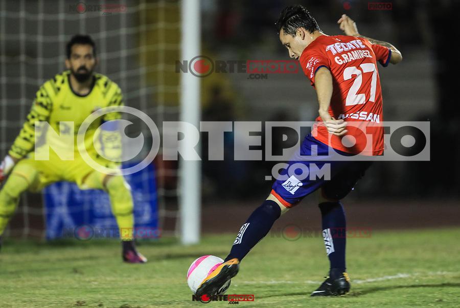 Cimarrones vs Alebrijes de Oaxaca durante el partido de futbol soccer de la jornada 11 del Torneo apertura 2017 de la Liga Ascenso MX 13 octubre2017 . <br /> (Foto: Luis Gutierrez )