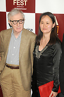Woody Allen and Soon-Yi Previn at Film Independent's 2012 Los Angeles Film Festival Premiere of 'To Rome With Love' at Regal Cinemas L.A. LIVE Stadium 14 on June 14, 2012 in Los Angeles, California. ©mpi35/MediaPunch Inc.