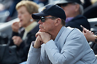 Wake Forest Athletic Director Ron Wellman takes in the Demon Deacons baseball game against the Notre Dame Fighting Irish at David F. Couch Ballpark on March 10, 2019 in  Winston-Salem, North Carolina. The Demon Deacons defeated the Fighting Irish 7-4 in game one of a double-header.  (Brian Westerholt/Four Seam Images)