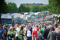 lotsa people at the start<br /> <br /> 2014 Belgium Tour<br /> (final) stage 5: Oreye - Oreye (179km)