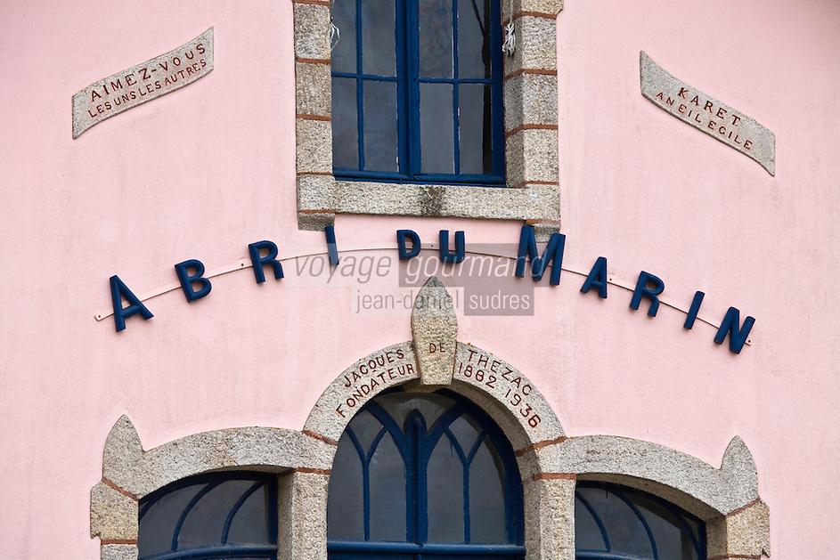 urope/France/Bretagne/29/Finistère/ Sainte-Marine: l'Abri du Marin