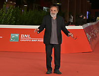 """Italian actor Alessandro Haber poses on the red carpet for the movie """"Vita da Carlo"""" at the 16th edition of the Rome Film Fest in Rome, on October 22, 2021.<br /> UPDATE IMAGES PRESS/Isabella Bonotto"""