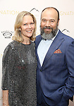 Rebecca Luker and Danny Burstein attends the 'Indignation' New York premiere at the Museum of Modern Art on July 25, 2016 in New York City.