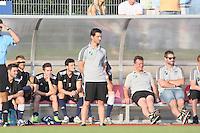 Trainer Andre Weingärtner (Waldalgesheim) - SV Alem. Waldalgesheim trifft in der 1. Runde des DFB-Pokal auf Bayer Leverkusen und spielt gegen Ingelheim den Saisonauftakt