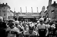 The start of the 114th Paris-Roubaix 2016