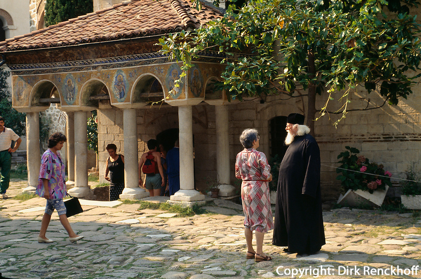 Batschkovo-Kloster, Priester, Bulgarien,