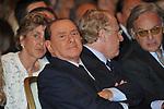 SILVIO BERLUSCONI, PAOLO SCARONI E DIEGO DELLA VALLE<br /> PREMIO GUIDO CARLI - TERZA  EDIZIONE<br /> PALAZZO DI MONTECITORIO - SALA DELLA LUPA<br /> CON RICEVIMENTO  HOTEL MAJESTIC   ROMA 2012